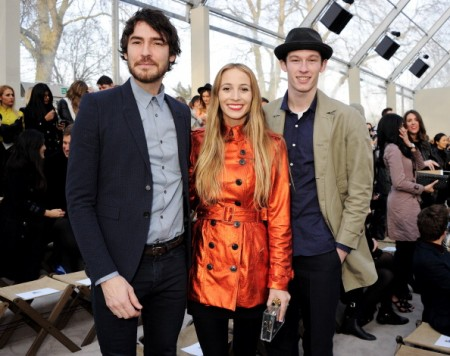 Burberry Prorsum Autumn Winter 2013 Womenswear Show - Front Row