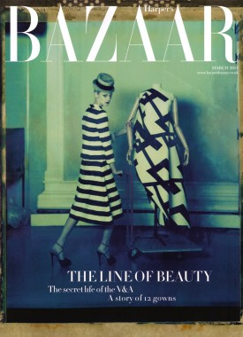 Harper's Bazaar UK March 2013