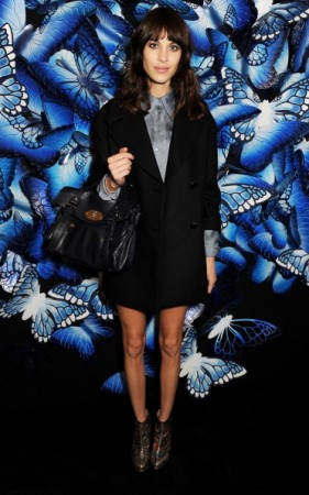 Mulberry Autumn Winter 2013 - London Fashion Week - Arrivals & Front Row