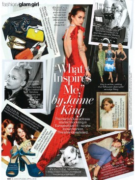 Jaime King_Glamour_April 2013