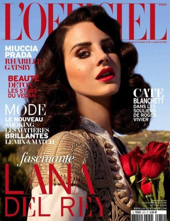 L'Officiel_Lana Del Rey