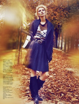 Maria Loks | Stylist France #23, 24 October 2013 (Photography: Marcin Tyszka)
