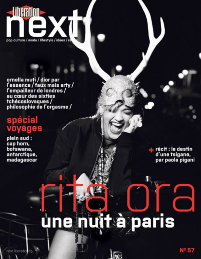 Rita Ora | Next Libération N°57 (Photography: Karl Lagerfeld)