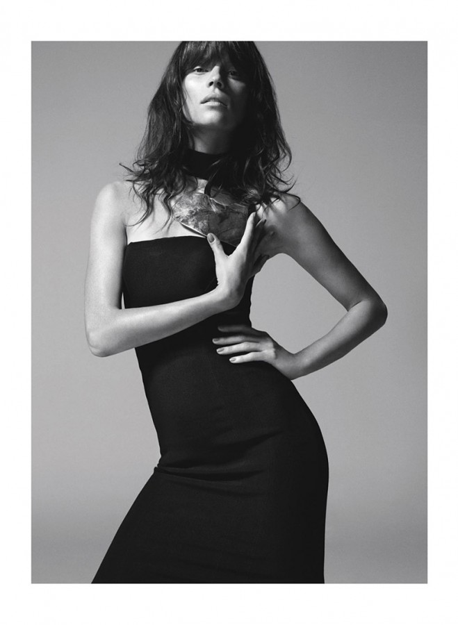 Egle Tvirbutaite   Marie Claire UK December 2013 (Photography: Frederic Pinet)