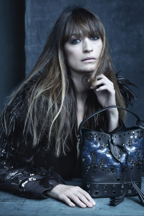 Catherine de Maigret for Louis Vuitton Spring 2014 (Photography: Steven Meisel)