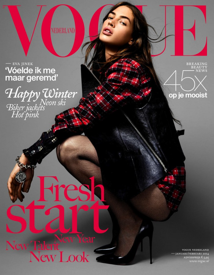Crista Cober | Vogue Nederland januari / februari 2014 (Photography: Marc de Groot)
