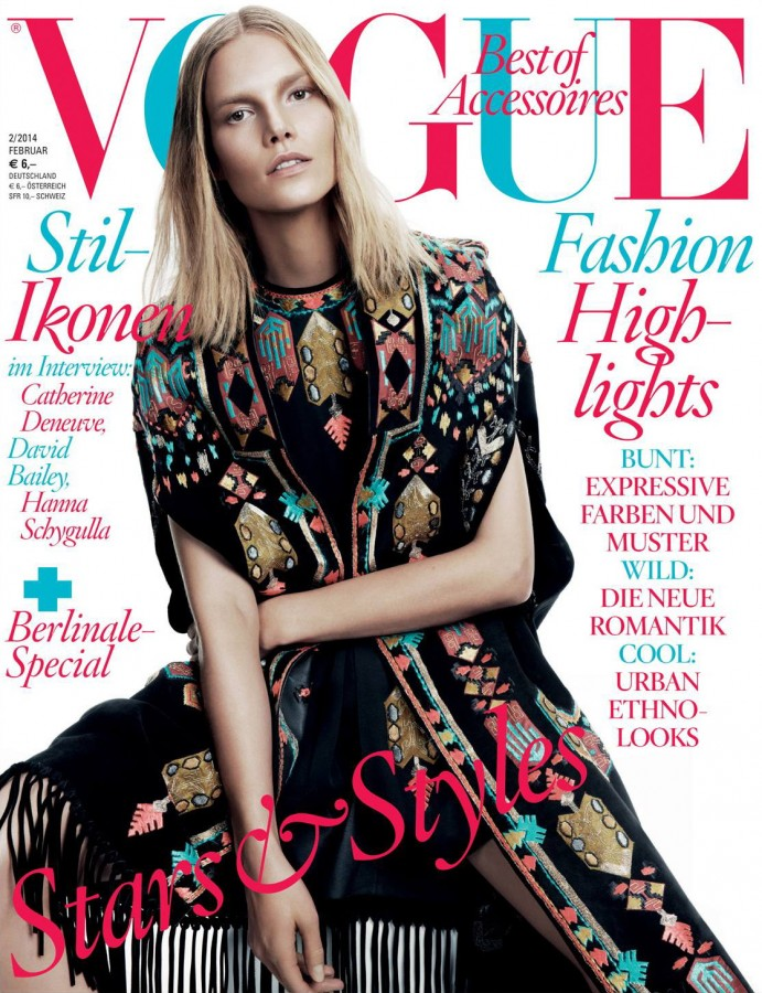 Suvi Koponen | Vogue Deutch Februar 2014 (Photography: Claudi und Stefan)