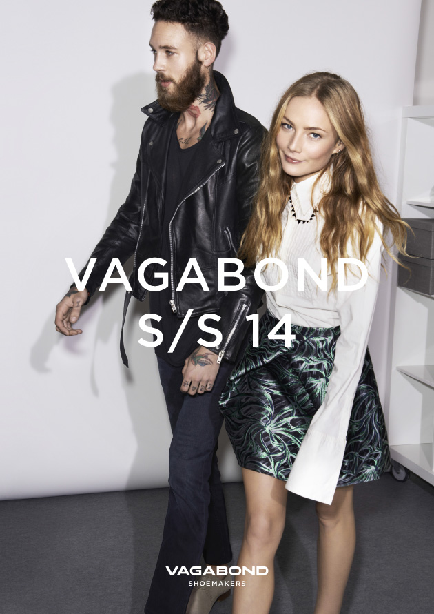 Clara Paget for Vagabond Spring 2014 (Photography: Joan Braun)