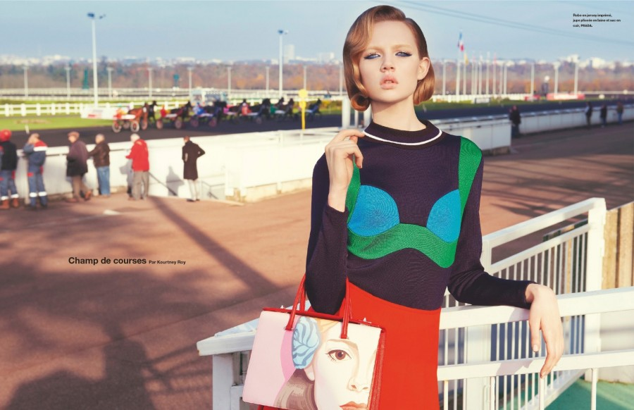 Holly Rose | Numéro N°150 February 2014 (Photography: Kourtney Roy)