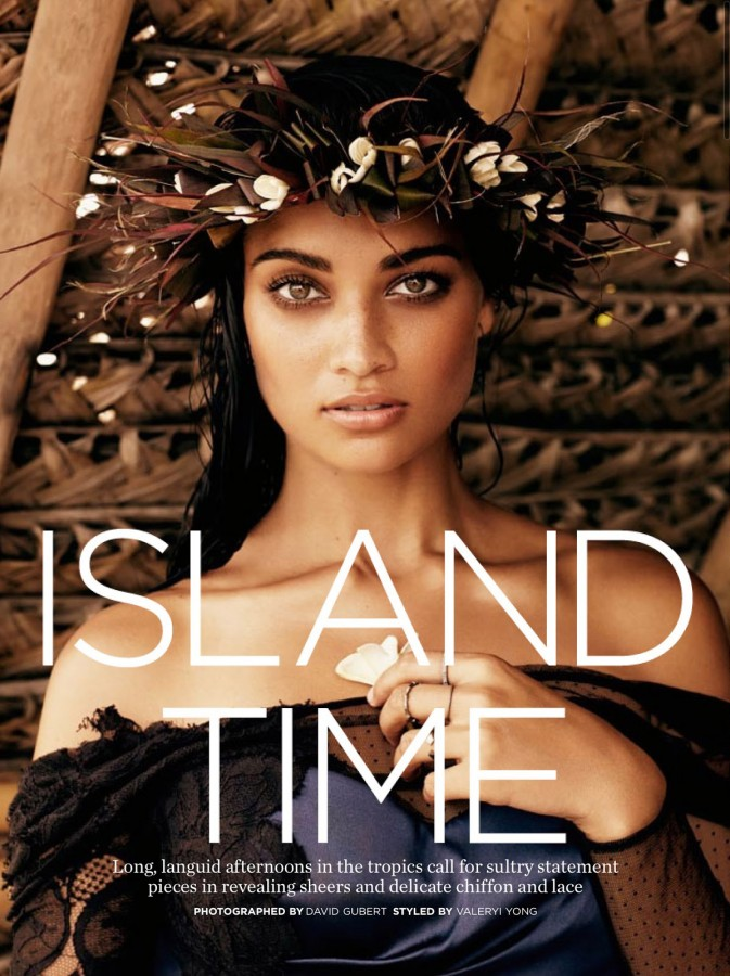 Shanina Shaik | Marie Claire Australia February 2014 (Photography: David Gubert)