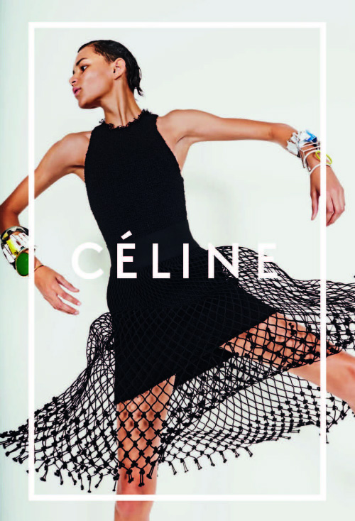 Binx for Céline Spring 2014 (Photography: Juergen Teller)