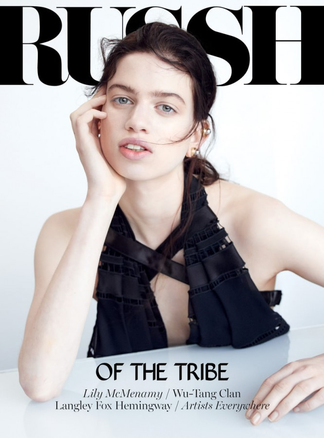 Lily McMenamy | Russh February / March 2014 (Photography: Alex Franco)