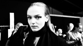 Jessica Bergs | Christian Dior Fall 2014 (Video still: Damien Neva)