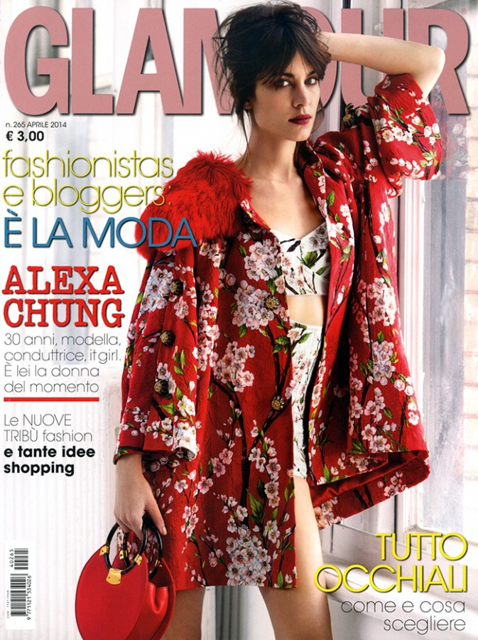 Alexa Chung | Glamour Italia April 2014 (Photography: Patrick Demarchelier)