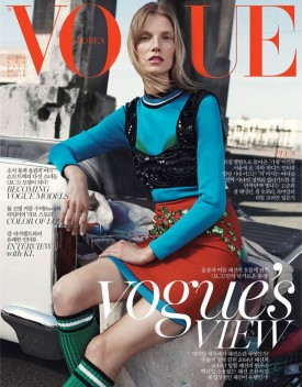 Suvi Koponen | Vogue Korea April 2014 (Photography: Benny Horne)