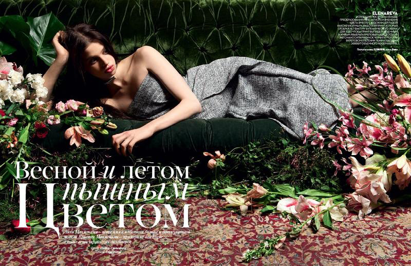 Lily McMenamy | Vogue Ukraine April 2014 (Photography: Caitlin Cronenberg)