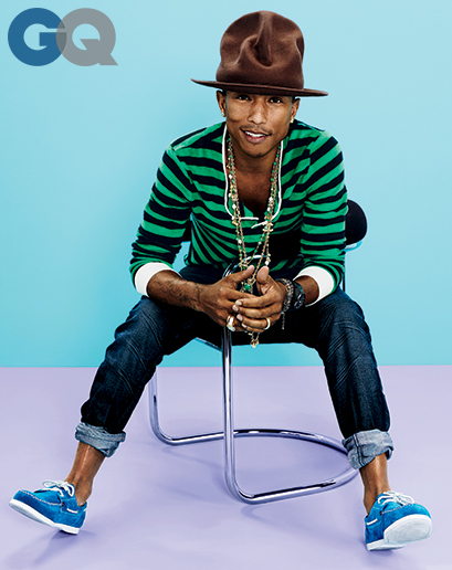Pharell Williams In Fashion Show