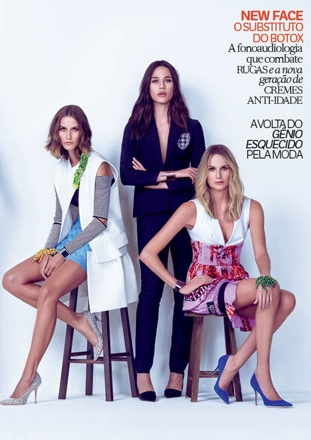 Renata Kuerten & Rhayene | Vogue Brasil April 2014 (Photography: Jacques Dequeker)