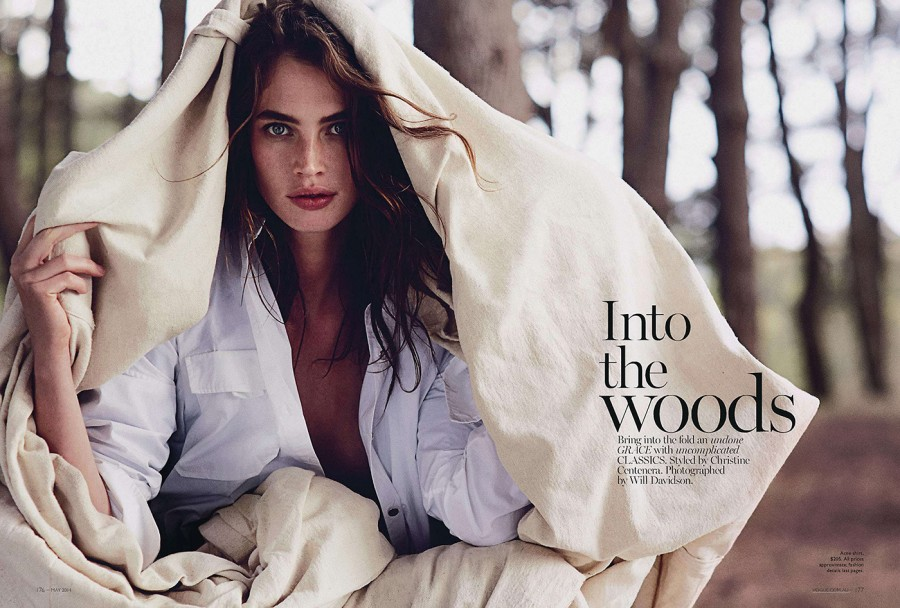 Crista Cober | Vogue Australia May 2014 (Photography: Will Davidson)