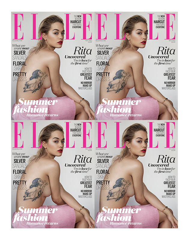 Rita Ora | ELLE UK May 2014 (Photography: Thomas Whiteside)
