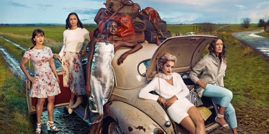 Rita Ora for Marks & Spencer Spring 2014 (Photography: Annie Leibovitz)
