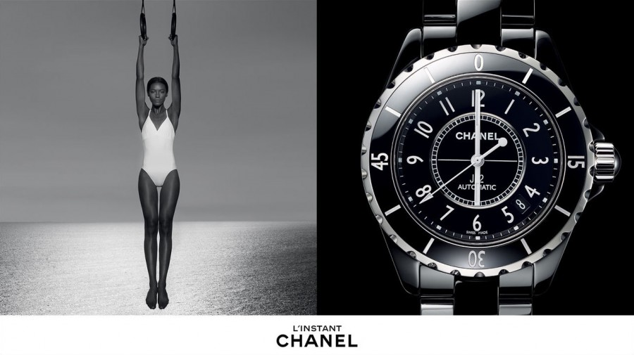 Sharam Diniz for Chanel Horlogerie Spring 2014 (Photography: Patrick Demarchelier)