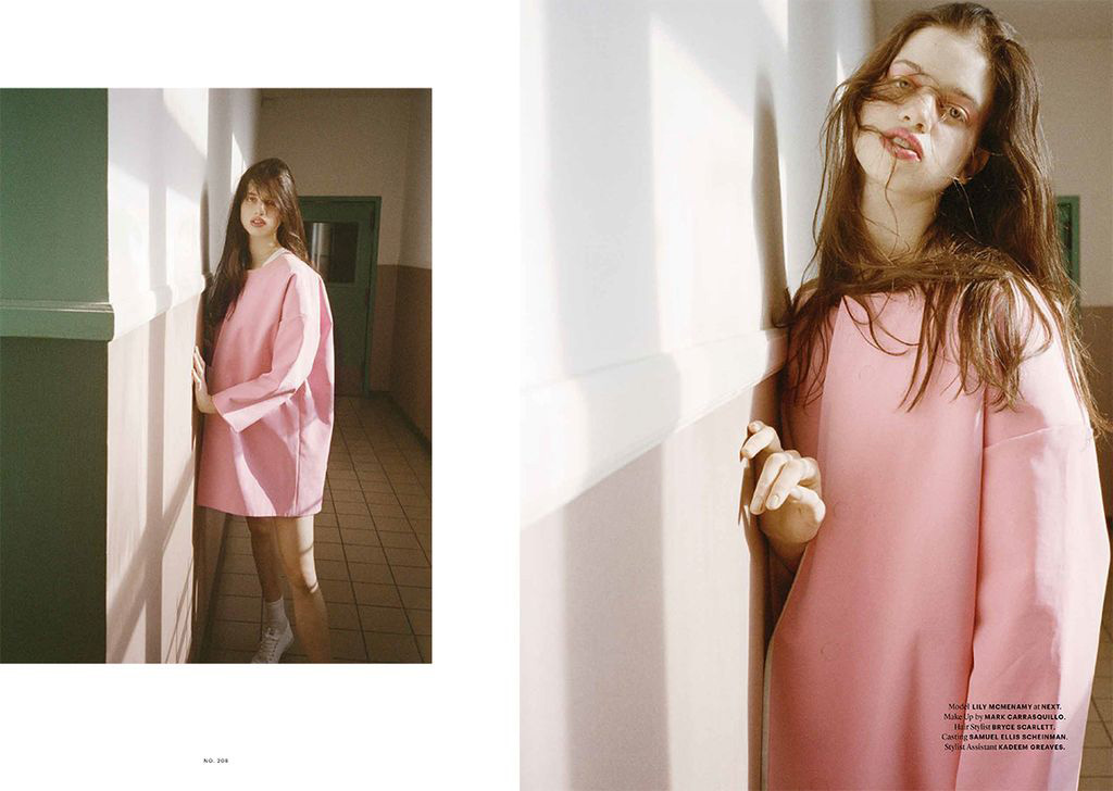 Lily McMenamy | Document N°4 Spring 2014 (Photography: Alessio Boni)