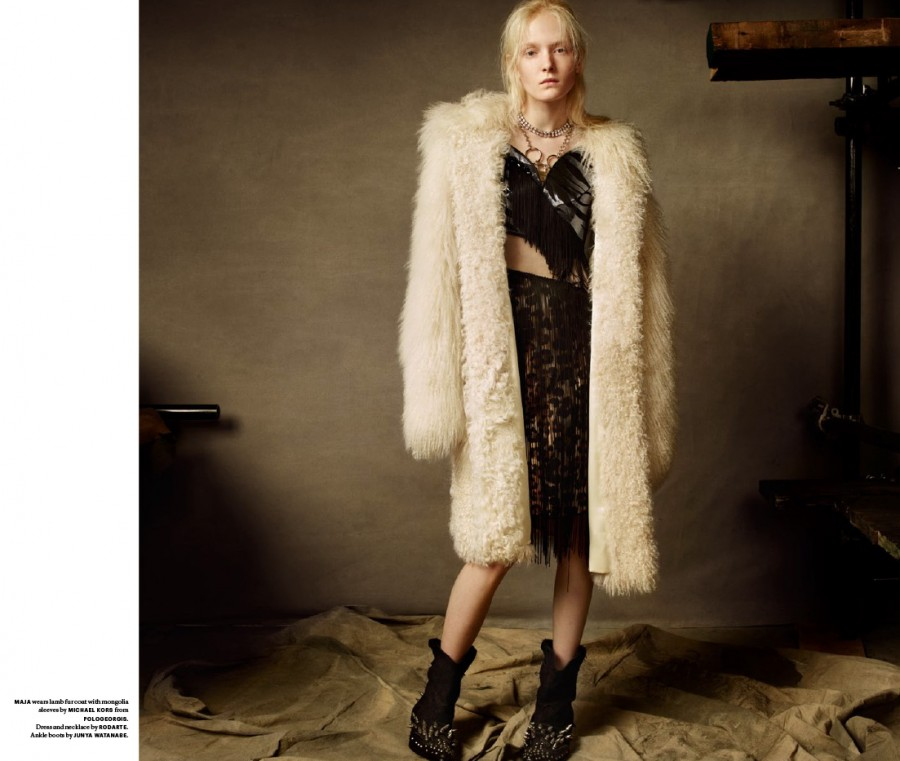 Maja Salamon | Document N°4 Spring 2014 (Photography: Christian MacDonald)