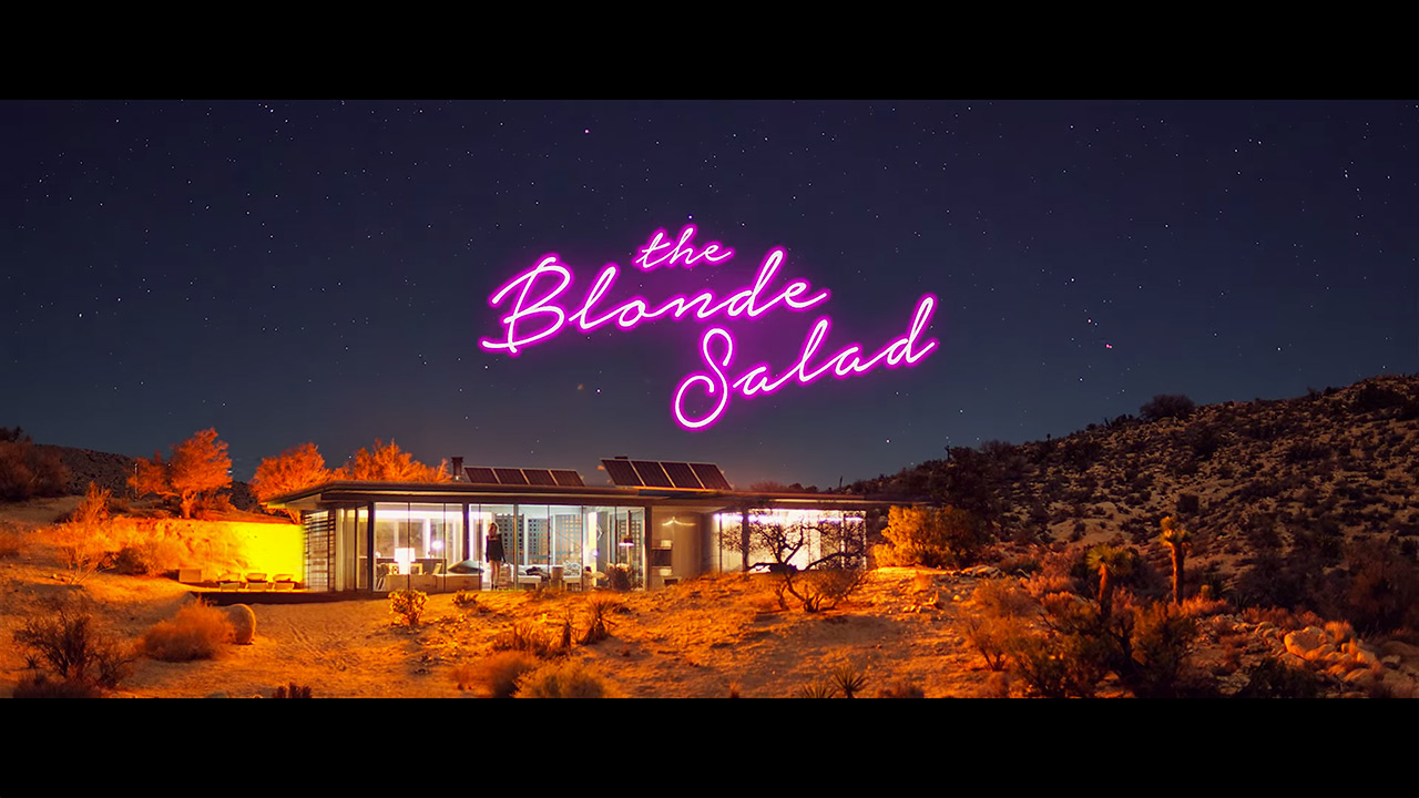 Chiara Ferragni launches new The Blond Salad (Video still: Charles Bergquist via youtube.com/TheBlondeSalad)