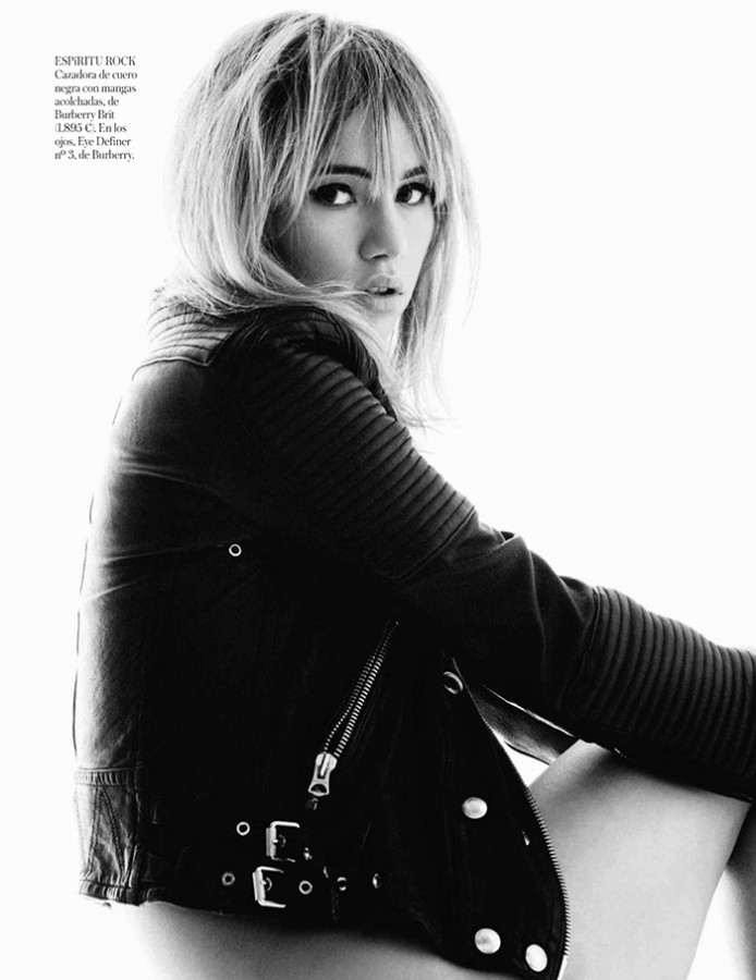 Suki Waterhouse | Vogue España May 2014 (Photography: Gorka Postigo)