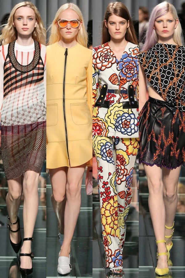 Esmerelda Seay-Reynolds, Maja Salamon, Kia Low & Ola Rudnicka | Louis Vuitton Cruise 2015 (Photography: Gianni Pucci / Indigitalimages.com via Style.com)