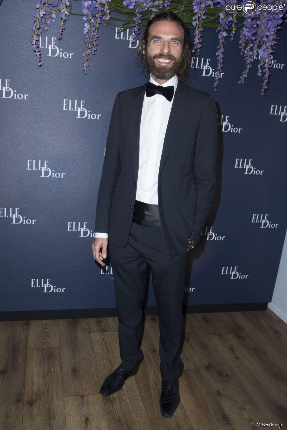 John Nollet at Dior & ELLE event at Cannes 2014 (Photography: BestImage via purepeople.com)