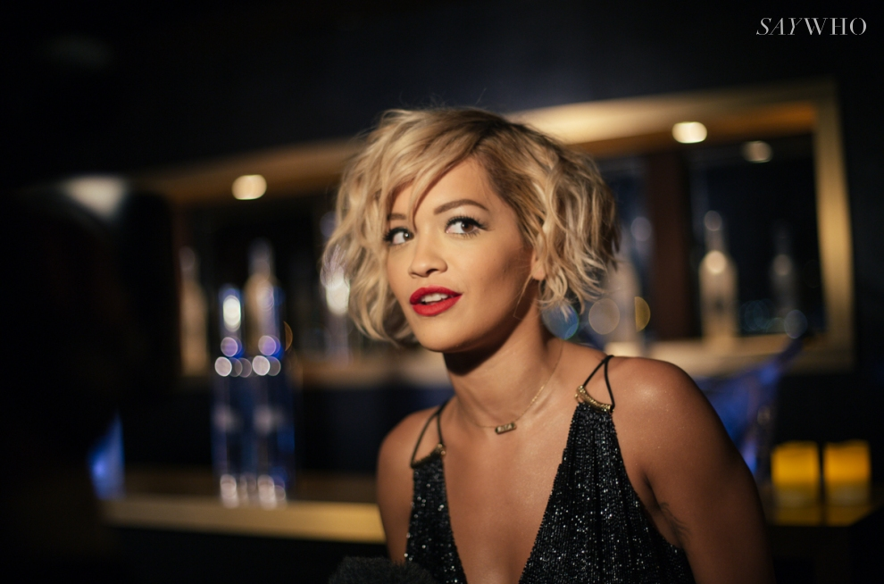 Rita Ora at Belvedere Vodka event at Cannes 2014 (Photography: Virgile Guinard via saywho.fr)