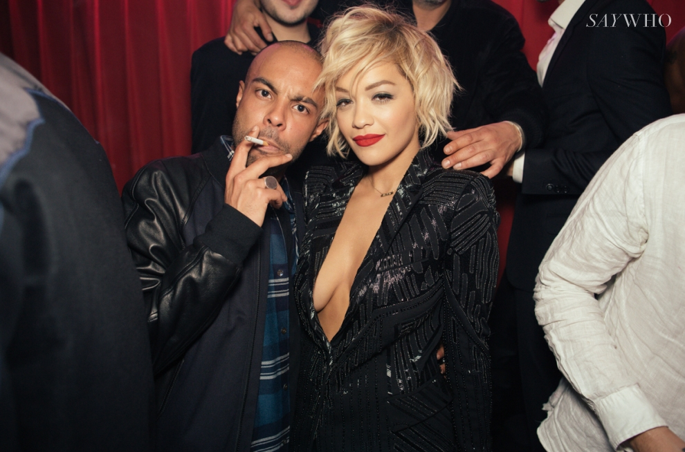 Rita Ora & Alex Sossah | Trois Nuits au Baron at Cannes 2014 (Photography: Virgile Guinard via saywho.fr)