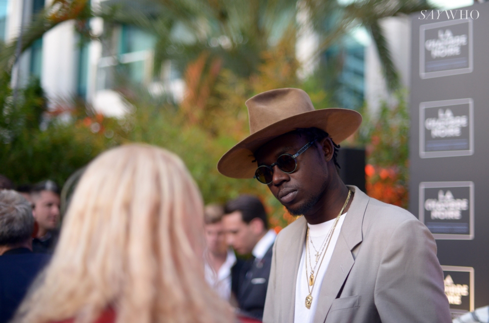 Theophilus London at La Chambre Noire on 20 May 2014 (Photography: via saywho.fr)