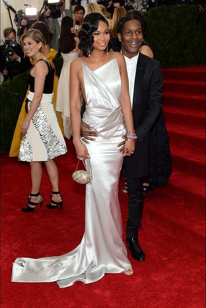 A$AP Rocky attends 2014 Met Gala (Photography: Getty Images via Style.com)