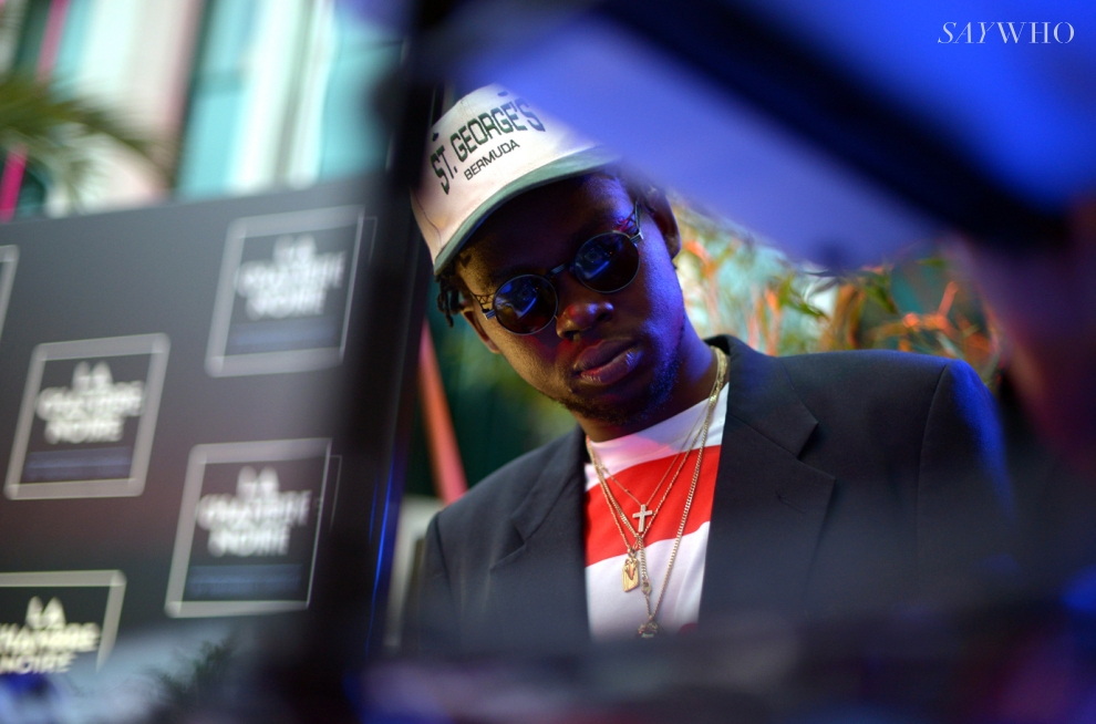 Theophilus London at La Chamber Noir by Belvedere Vodka (Photography: via saywho.fr)
