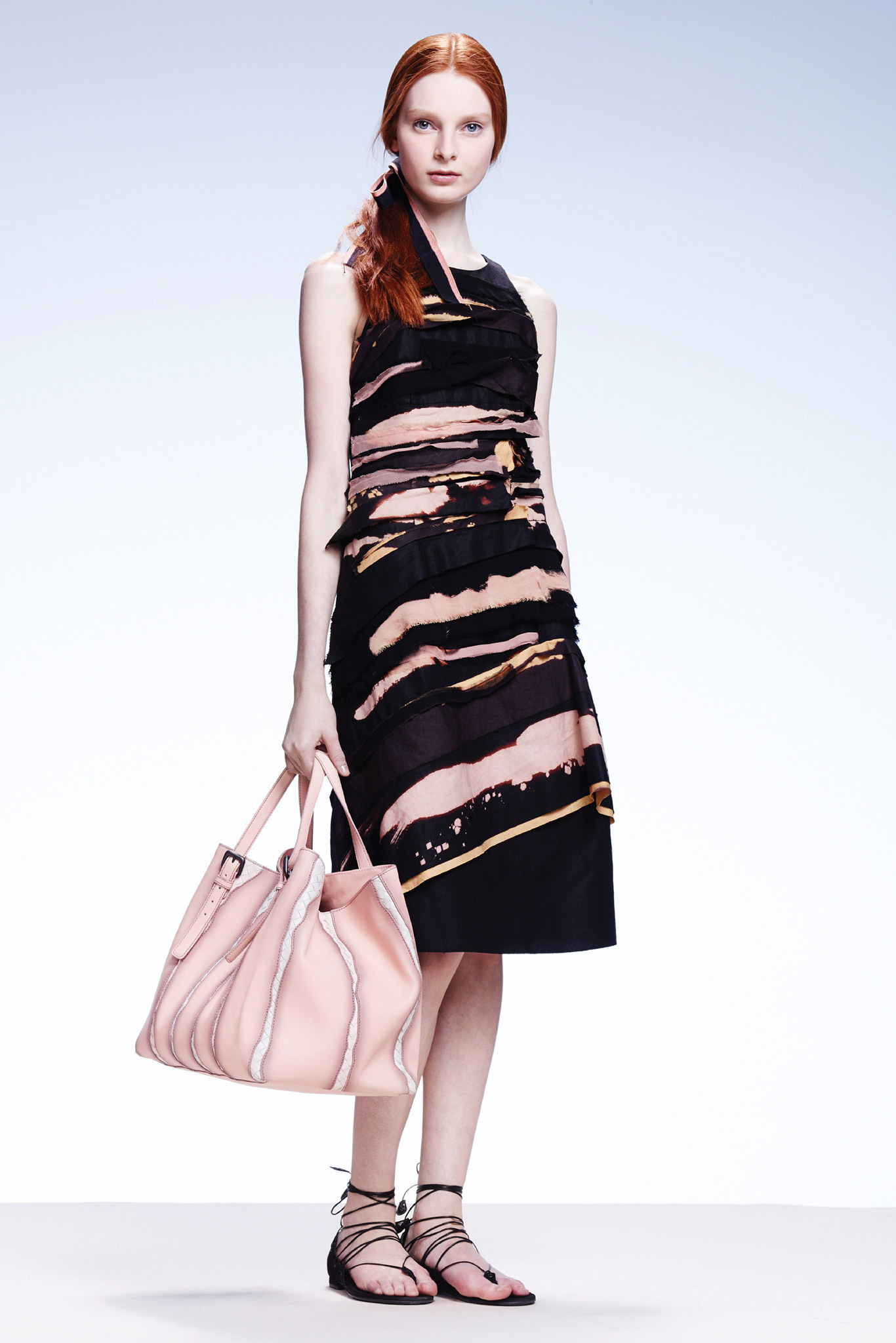 Dasha Gold | Bottega Veneta Resort 2015 (Photography: Courtesy Of Bottega Veneta via Style.com)