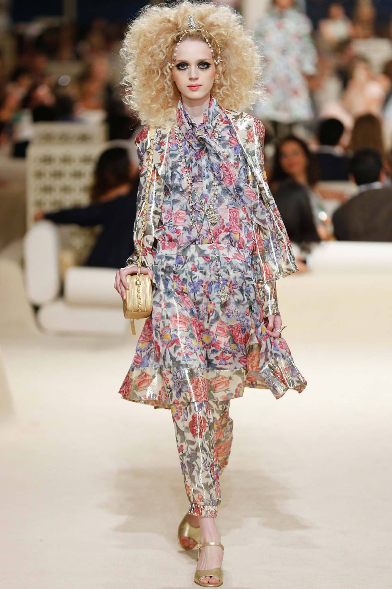 Esmerelda Seay-Reynolds | Chanel Cruise 2015 (Photography: Gianni Pucci / Indigitalimages.com via Style.com)