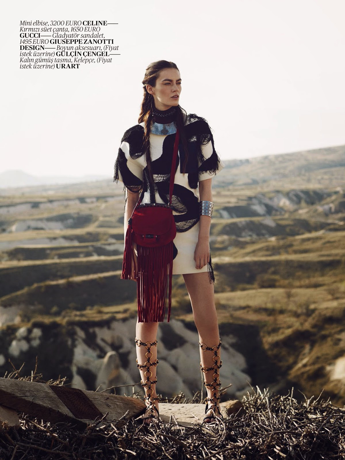 Patrycja Gardygajlo | Vogue Turkey May 2014 (Photography: Emre Güven)