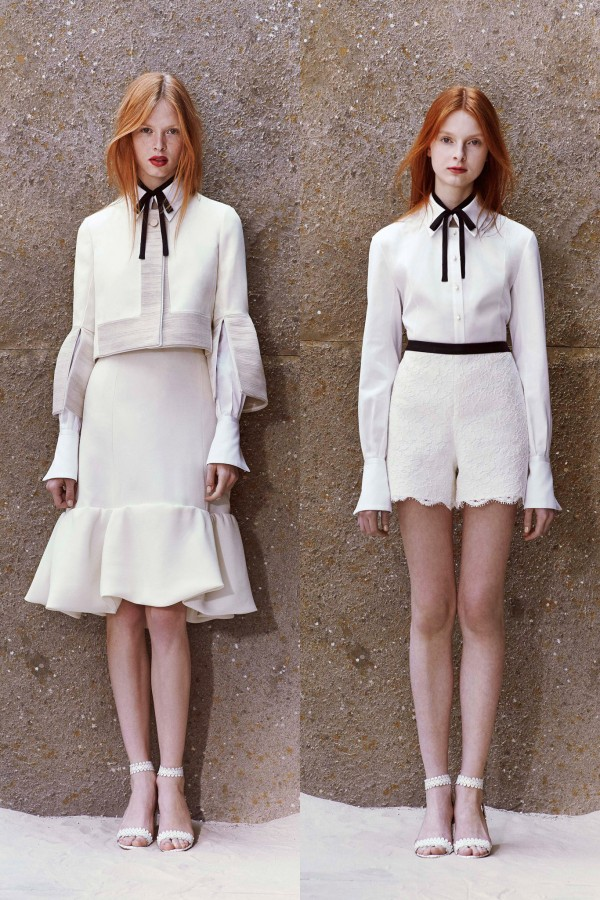 Dani Witt & Dasha Gold | Honor Resort 2015 (Photography: courtesy of Honor via Style.com)