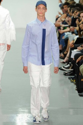 Charlie James | Richard Nicoll Spring 2015 Menswear (Photography: Yannis Viamos / Indigitalimages.com via Style.com)