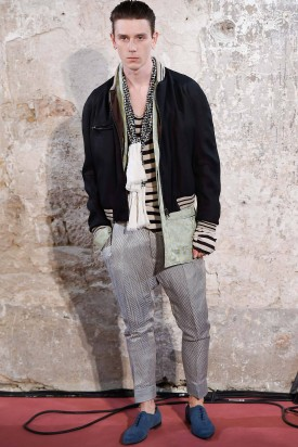 David Metcalfe | Haider Ackermann Spring 2015 Menswear (Photography: Umberto Fratini / Indigitalimages.com via Style.com)