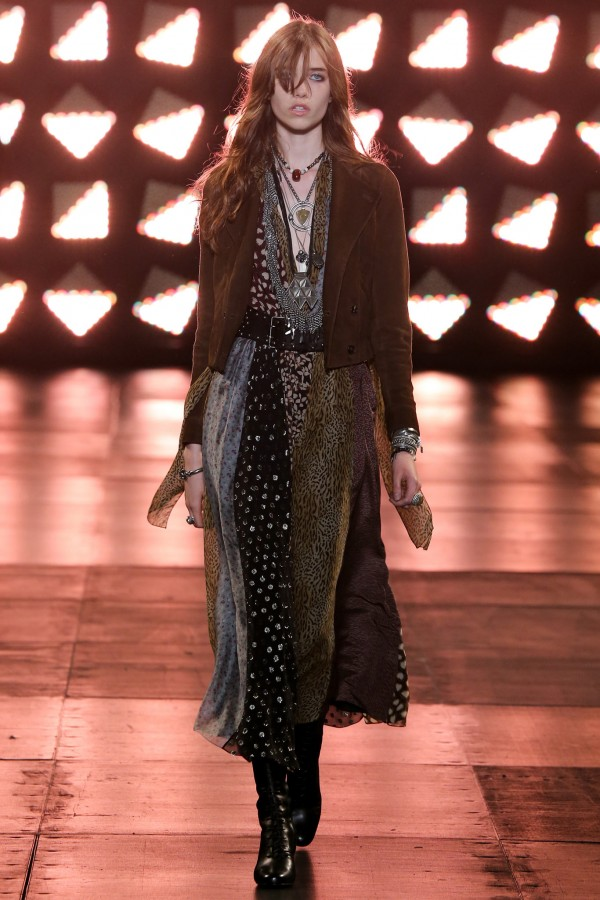 Grace Hartzel | Saint Laurent Spring 2015 Menswear (Photography: Gianni Pucci / Indigitalimages.com via Style.com)
