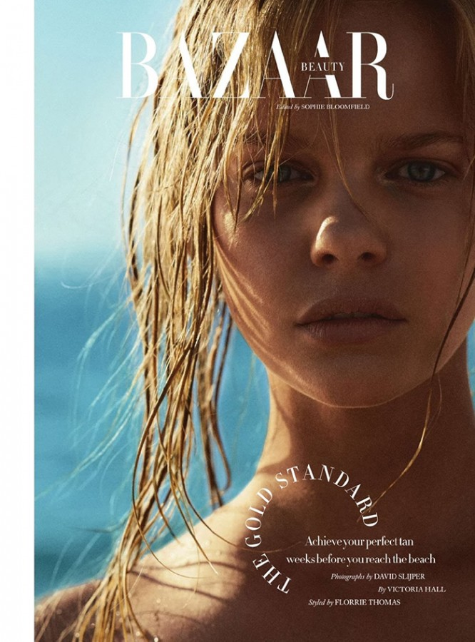 Marloes Horst | Harper's Bazaar UK July 2014 (Photography: David Slijper)