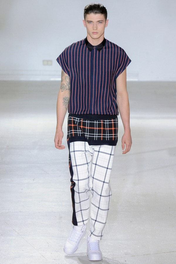 Matthew Holt | 3.1 Phillip Lim Spring 2015 Menswear (Photography: Yannis Viamos / Indigitalimages via Style.com)