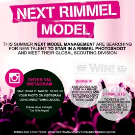 Enter now — #NEXTRIMMELMODEL