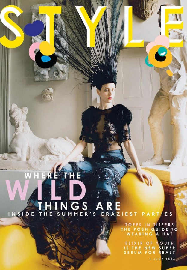 Tati Cotliar | Sunday Times Style 1 June 2014 (Photography: Tom Craig)