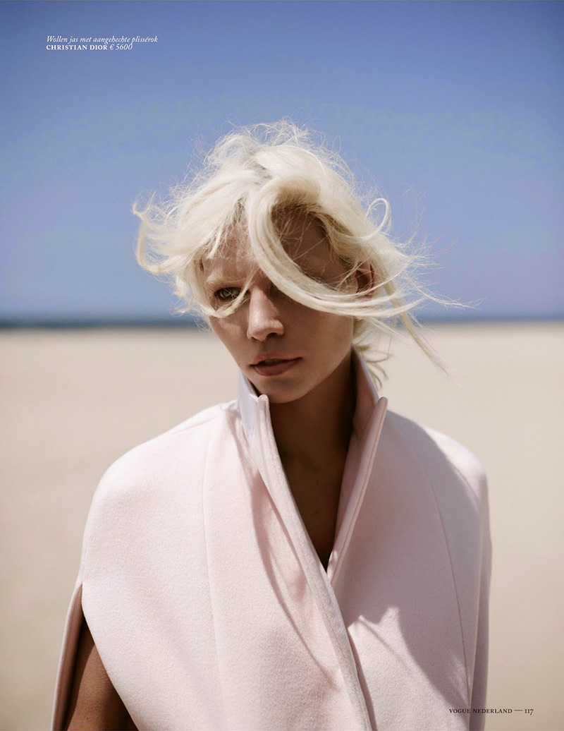 Aline Weber | Vogue Nederland July / August 2014 (Photography: Annemarieke Van Drimmelen)
