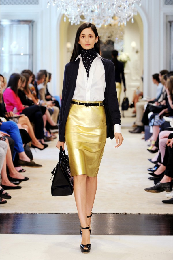 Cecilia Mendez | Ralph Lauren Resort 2015 (Photography: courtesy of Ralph Lauren via Style.com)